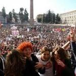 «Se Non Ora Quando?»: il movimento delle donne partito il 13 febbraio torna in piazza