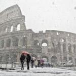 L'Italia sotto la neve