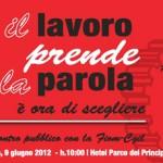 Roma 9 giugno 2012. Iniziativa FIOM: Il lavoro prende la parola