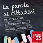 Comitato Articolo 33: I perché di un referendum