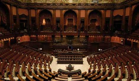 Parlamento ultimo inchiesta for Formazione parlamento