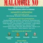 MALAMORE NO 6 Settembre: Serata a sostegno della Casa delle donne per non subire violenza