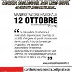 Alessandra Maltoni: Manifestazione a Roma del 12 Ottobre. Perché l'ANPI non ha aderito?