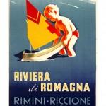 Emilio Rebecchi: Domani dei vigilantes lungo la spiaggia di Rimini