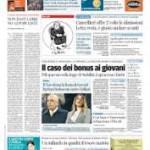 Paolo Pini: Il bonus giovani tra annunci, dubbi e primi dati. L'insuccesso atteso di un provvedimento estivo