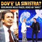 Bruno Giorgini: Dal PCI di Berlinguer al PD di Renzi. Metamorfosi o speciazione