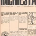 """Mario Miegge: Uno dei fondatori di """"Inchiesta"""" ci ha lasciato"""