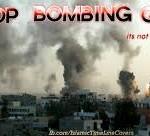 Stop bombing Gaza. Solidarietà con il popolo palestinese