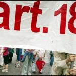 Per la difesa integrale e l'autentico significato dell'art.18