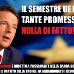Vincemzo Comito: Deludente semestre di presidenza italiana a Bruxelles. Quattro variabili per cambiare rotta