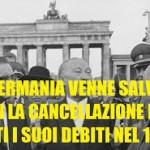 Vincenzo Comito: Quando la Germania era un debitore flessibile