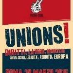 Maurizio Landini : Lettera alle lavoratrici e ai lavoratori per il 28 marzo 2015 a Roma