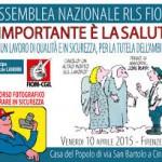 Maurizio Marcelli: A Firenze l'assemblea  dei Rappresentanti dei lavoratori per la sicurezza (Rls)