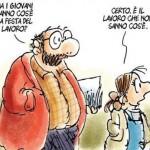 Franco Berardi: Primo maggio. Festa del non lavoro