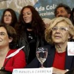 Due donne di Podemos: Ada Colau paladina  degli sfrattati e Manuela Carmena in lotta per i diritti umani