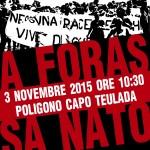 Il Manifesto Sardo: Il 4 novembre Manifestazione antimilitarista a Teulada