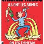 Charlie Hebdo: una copertina vera per  rispondere agli attentati di Parigi e una falsa su Matteo Salvini