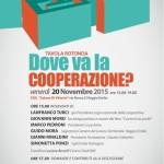 Reggio Emilia, 20 novembre 2015: Dove va la cooperazione?