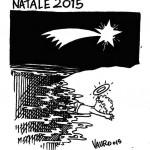 Vauro, Altan  e colleghi: Come  possono essere disegnati  gli auguri di Natale