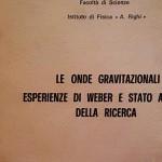 Bruno Giorgini: Il '68 delle onde gravitazionali/1