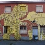Blu scancella i suoi murales a Bologna