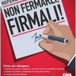 Tiziano Rinaldini: La scelta referendaria della Cgil