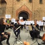 Stefano Bonaga e Federico Martelloni: Un flash mob a Bologna per la partecipazione