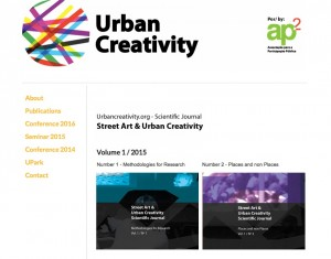 Street art & urban creativity journal 2015