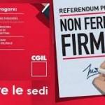 Matteo Gaddi, Tiziano Rinaldini: Per i diritti dei lavoratori e delle lavoratrici contro le scelte di governo