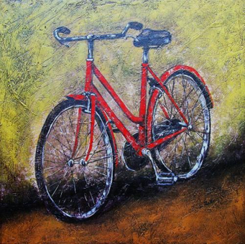 Aula Crisma: La Bicicletta rossa di Manuela Balanzin Sayegh