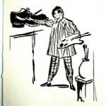 Alberto Cini: Le scarpe dell'arte/2