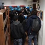 Cgil e Flc-Cgil di Bologna: A Bologna mandare la celere in biblioteca è stata una scelta grave e inadeguata