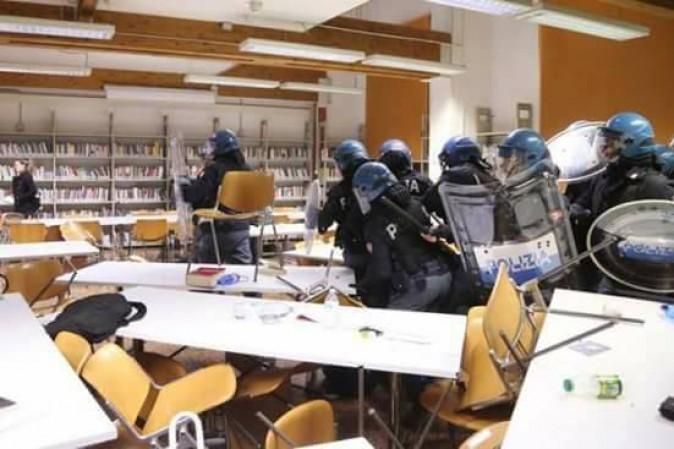 Bruno Giorgini: Non manganellate le biblioteche. Per favore