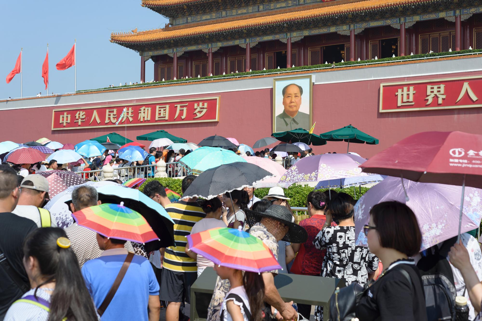 Emiliano Negrini: Géming, una nuova era. Le folle di turisti in Cina