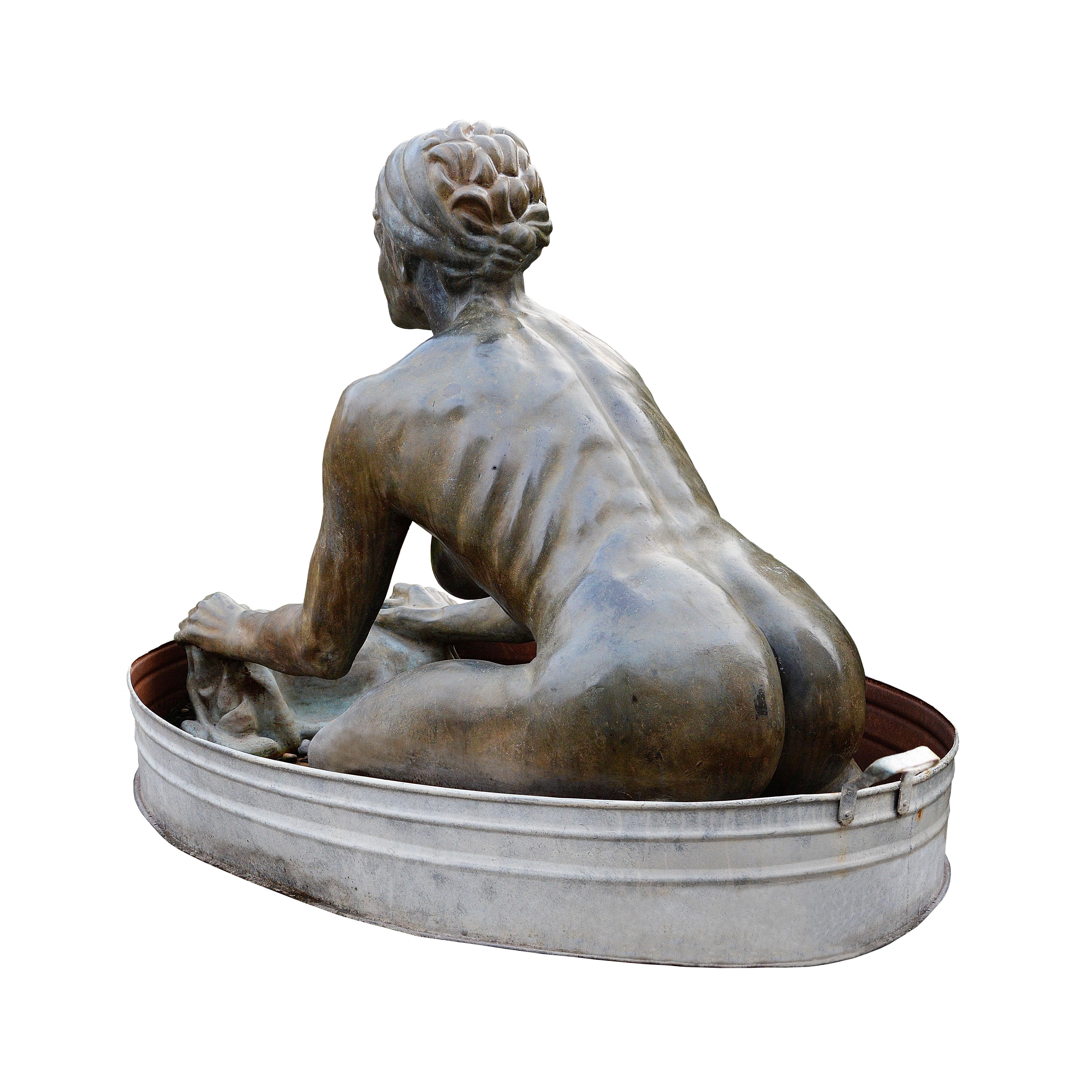 """Saura Sermenghi: La lavandaia in Via della Grada a Bologna che """"nella sua nudità lava e si lava"""""""