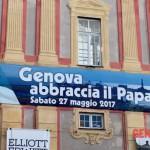 Papa Francesco incontra il mondo del lavoro a Genova