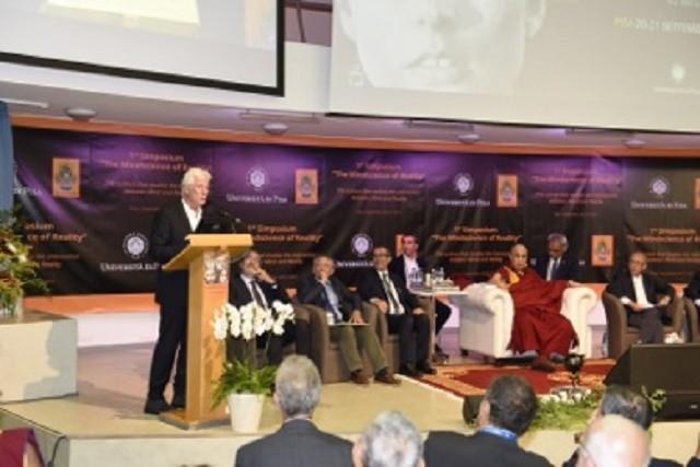 Il Dalai Lama all'Università di Pisa e al Comune di Firenze