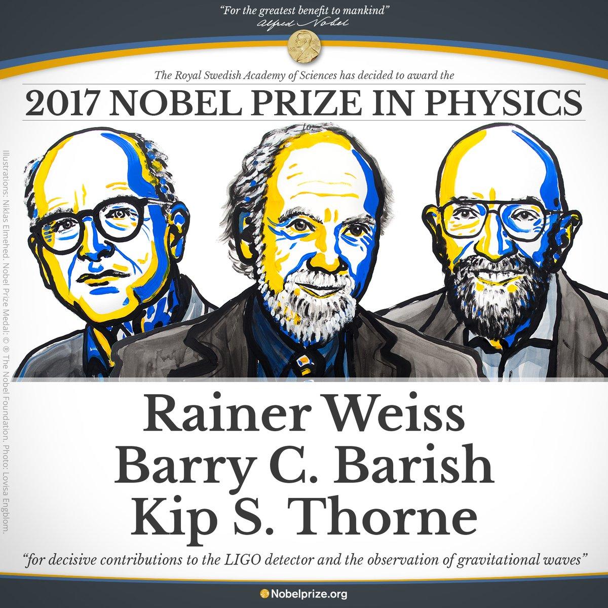 Bruno Giorgini: Il bel Nobel delle onde gravitazionali