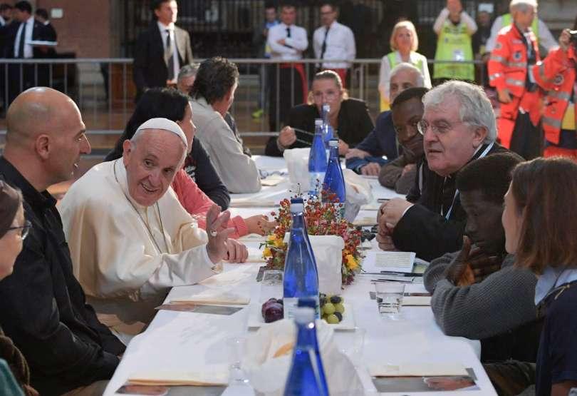 Bruno Giorgini: Bergoglio a Bologna: mai più contro gli altri, mai più senza gli altri