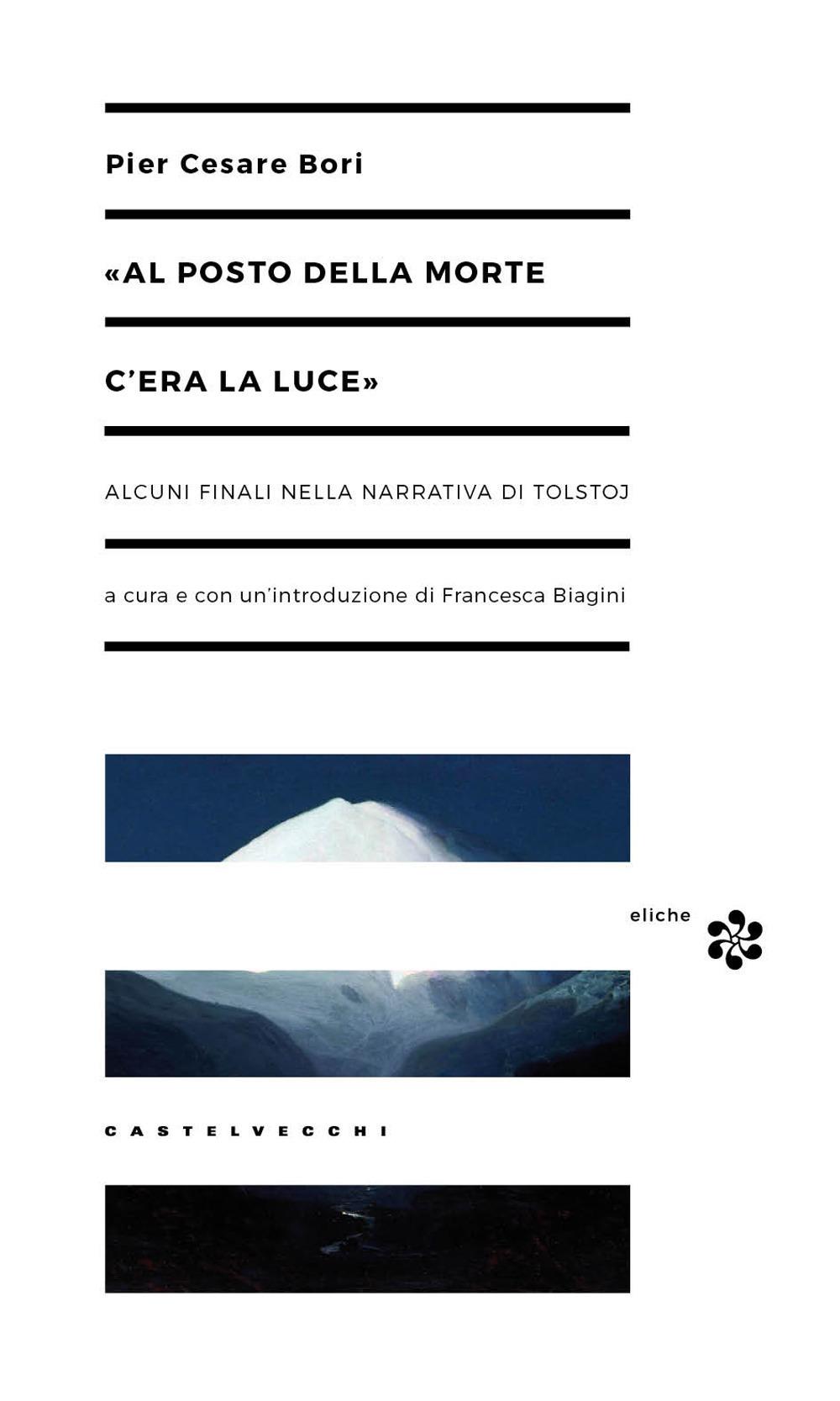 """Amina Crisma: """"Al posto della morte c'era la luce"""". Pier Cesare Bori interpreta Tolstoj"""