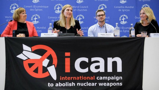 Mario Agostinelli e Luigi Mosca: Il Premio Nobel per la Pace 2017 attribuito a ICAN (International Campaign to Abolish Nuclear Weapons)