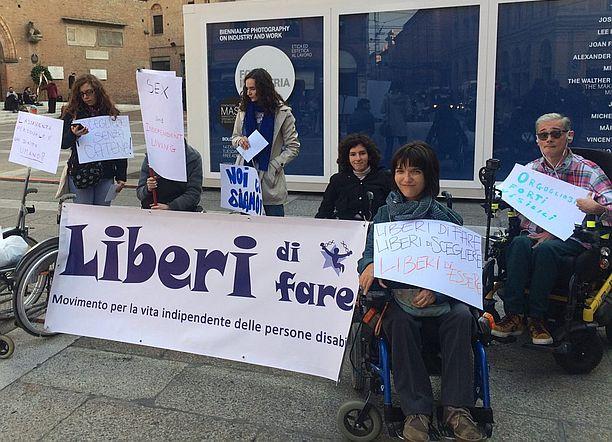"""Giovanni Stinco: """"Orgogliosi, forti, visibili"""". I disabili chiedono autonomia e fondi di sostegno"""