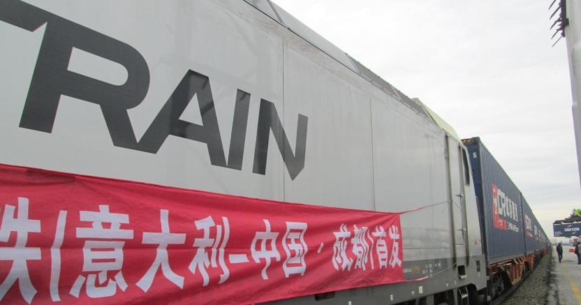 Roberto Alvisi: Parte da Mortara (Pavia) il primo treno merci italiano che lungo la via della seta arriva in Cina