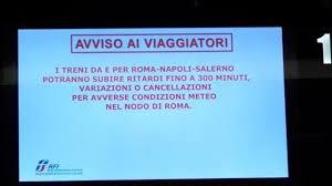 Bruno Giorgini: La freccia spezzata. Piccola cronaca di un collasso ferroviario con qualche pensiero.