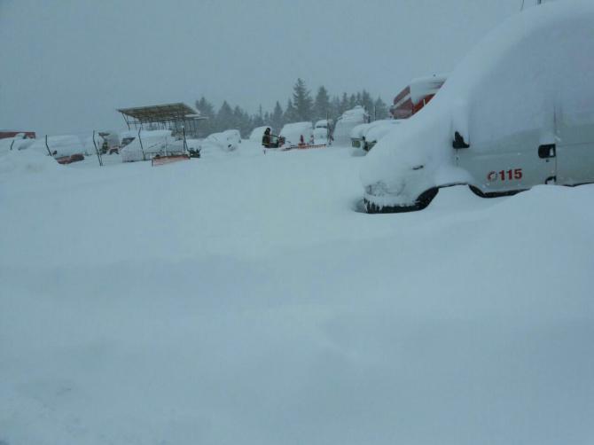 Roberto Roversi: L'Italia sepolta sotto la neve