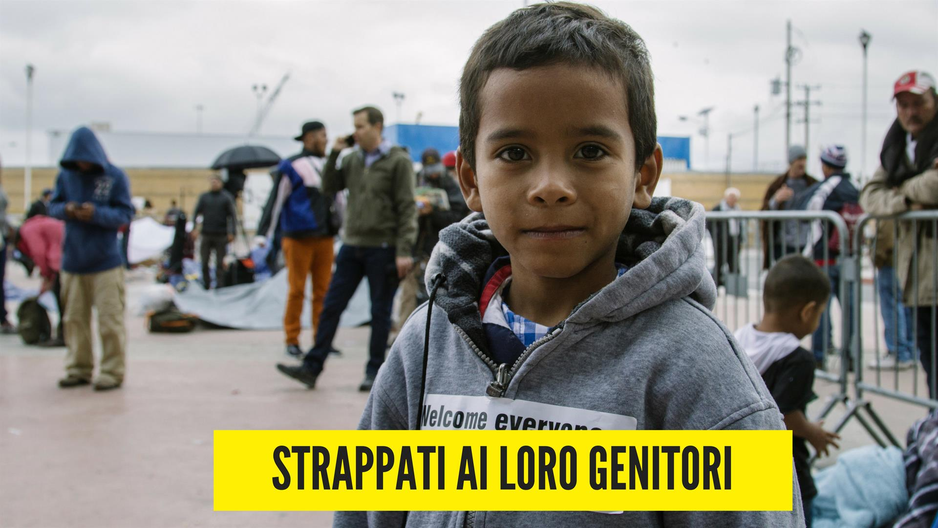 Amnesty International: Strappati ai loro genitori