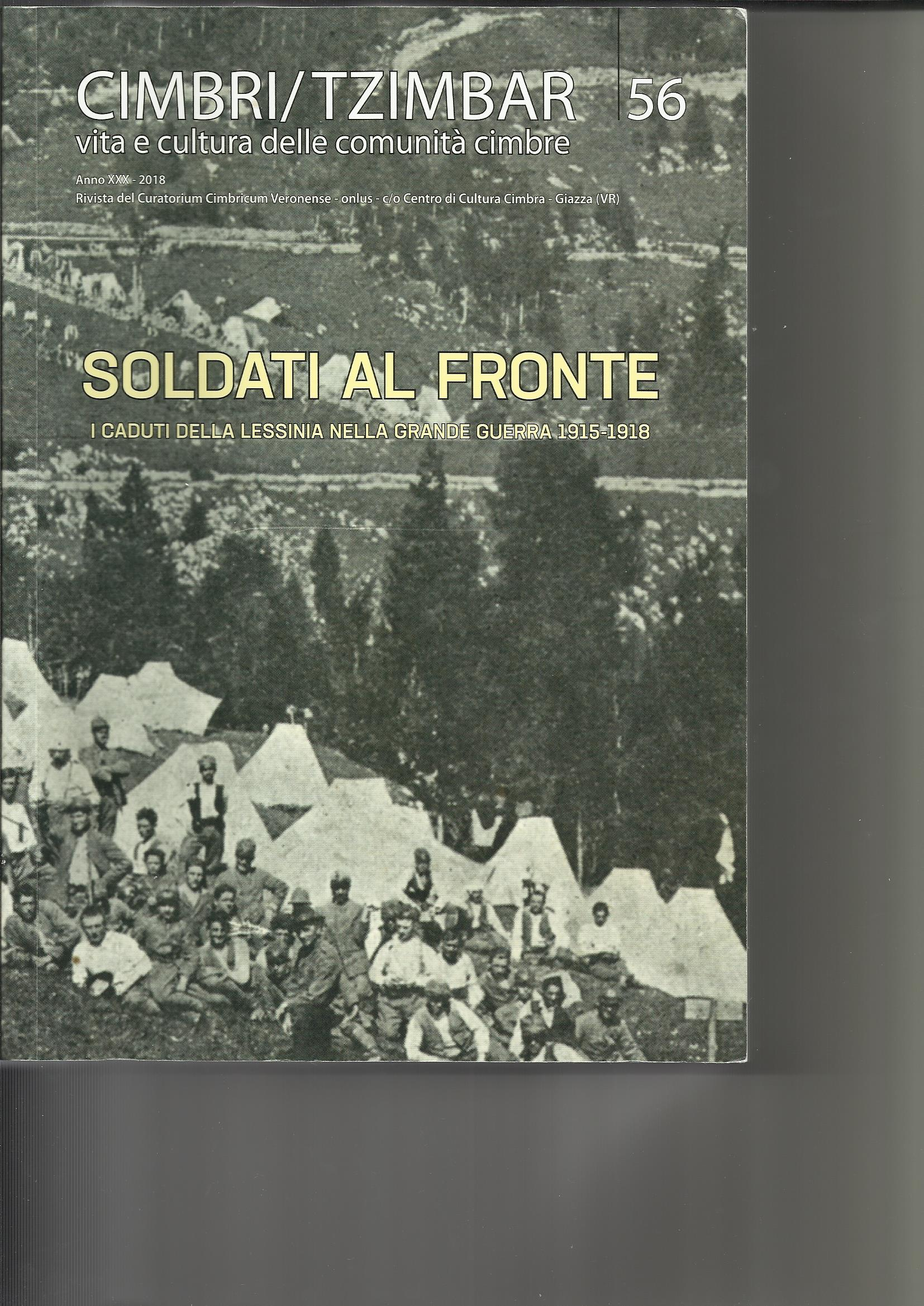 Aulo Crisma: Soldati al fronte. I caduti della Lessinia