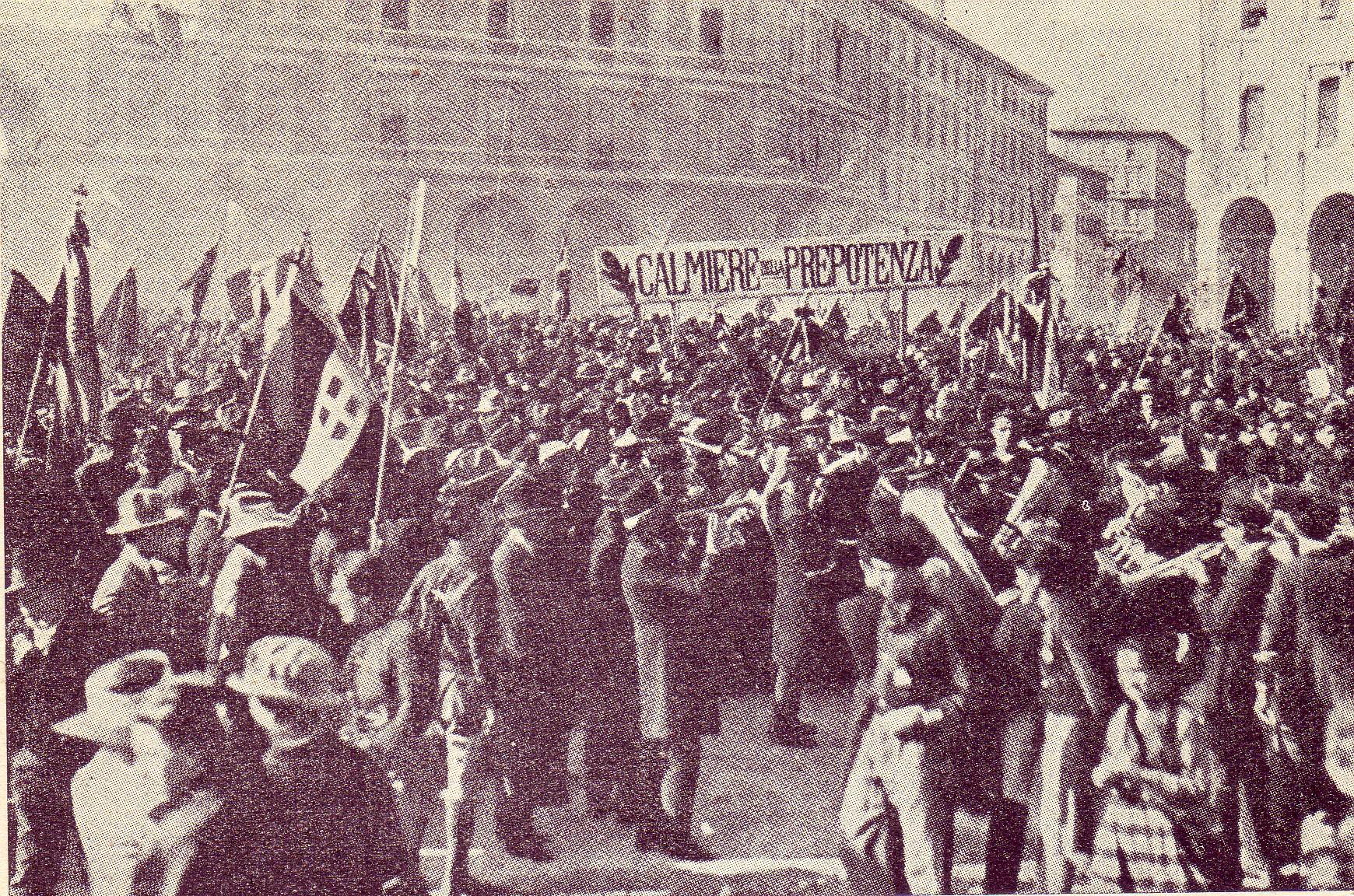 Roberto Dall'Olio: 21 Novembre 1920  Palazzo D'Accursio