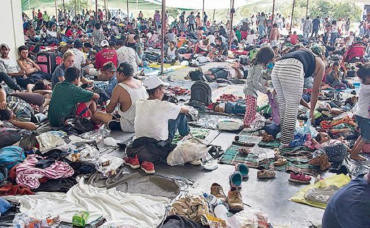 """Cristina Sanchez Parra: Traspasando fronteras. I migranti centroamericani in cerca del """"sogno americano""""."""