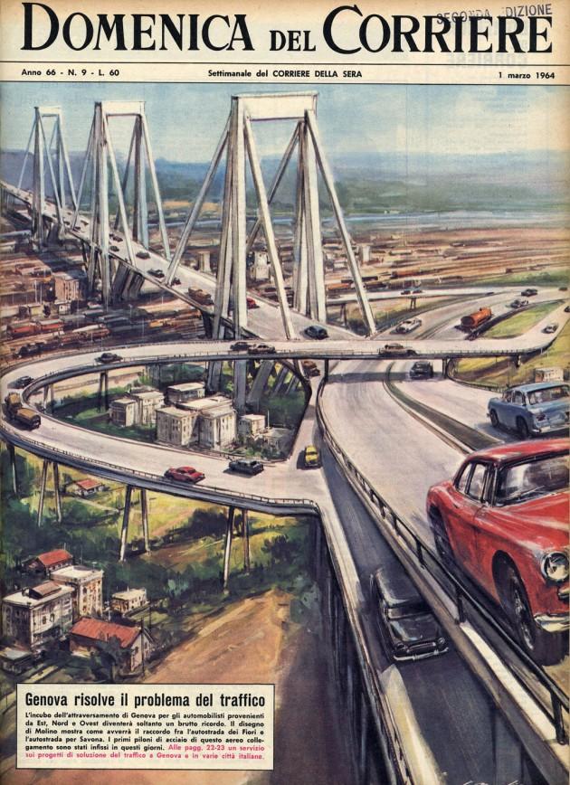 Maria Pace Nemola : Il ponte Morandi (ecco come lo vorrei)